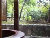 【客室】二間続きの和室「かつら」のお風呂(お部屋一例です)
