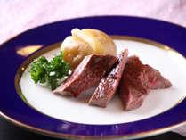 【夕食バイキング】肉厚の柔らかステーキ