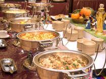 ※使用不可【夕食バイキング】トッポギをはじめ韓国メニュー料理コーナーも人気です♪