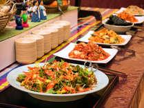 ※使用不可【夕食バイキング】人気の韓国料理コーナー♪