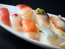 【夕食バイキング】人気の手作りの握り寿司