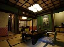 【離れ★ハイグレード】和室(ベッドタイプ)+ベッドルーム+広縁