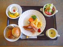 *【洋朝食一例】朝ごはんで一日の頑張る元気をチャージ♪