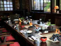 ご夕食を、お愉しみ下さい☆,熊本県,野の花の宿 阿蘇の四季