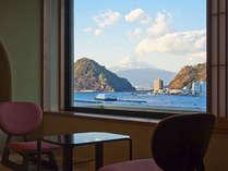 お部屋からの富士山眺望