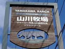 【山川牧場】ビーフもソフトも美味しい。