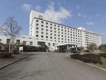 【外観全景】みなみ北海道鹿部ロイヤルホテル