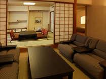 ≪CLASSIC SUITE ROOM和洋≫オーシャンビューが楽しめる和室と洋室がコネクトしたスイートルームです。