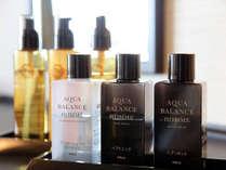 【全室】お部屋に備えつけの男性化粧品・女性化粧品