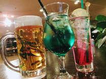 【夕食】飲み放題(ホテル指定飲料)