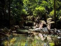 【大浴場】自然を感じる露天風呂