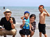 ■夏休みファミリープラン■海だ!BBQだ!自然の中でいっぱい遊ぼう\(^∀^)/