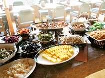 和食コーナー地場食材を使った旬の味覚をお楽しみ下さい