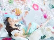 【イベント】海藻のお花見アート