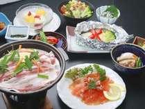 スタンダードプランのお料理一例です(※食材の旬、仕入れ状況によってお料理内容は変わります。)
