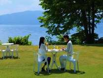 【朝食】晴れた日はプライベートガーデンでサンライズモーニングブッフェ