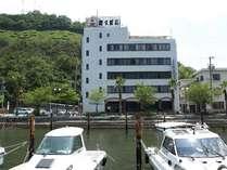 【外観】日生港からの写真です。