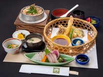 【定番/2食付】季節ごとに替わる釜飯付!料理長おすすめの四季を楽しむ旬御膳プラン