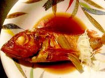 *煮汁がしみ込んだ美味しいかさごの姿煮