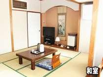 和室8畳  家族やグループでの宿泊に最適
