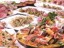石川県産食材をふんだんに使用したディナーブッフェ付プラン(2食付)