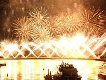 【夏の熱海花火大会】海上から‥特別な席で花火鑑賞♪人気観光地熱海の花火をクルージングで楽しむプラン