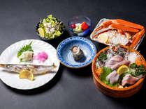 新鮮なお刺身から塩味の効いた焼き魚まで。素材の旨味をご堪能あれ!