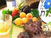 夏のサザエは1年で最もおいしい!キュウリ、ナス、トマトなどの夏野菜も自家菜園で新鮮!地酒もおすすめ