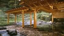 開放感抜群の庭園露天風呂(男性様露天風呂)