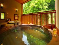 『別邸 一花一葉』客室露天風呂