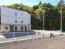 当館前のドッグラン