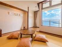 空のお部屋 和洋室海を見ながら 畳でゴロゴロ