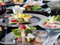 旬を活かした♪彩り鮮やか和会席 本格的な和会席料理をお召し上がり頂けます。