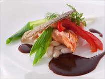 本格プレミアムフレンチ魚料理一例