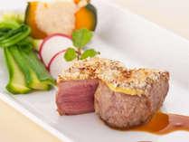 本格プレミアムフレンチコースお肉料理一例