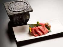 とろける美味しさ…♪和牛の石焼(イメージ)