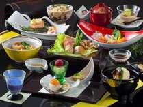 会席料理を気軽に楽しめる「旬を活かした♪ 彩り鮮やか和会席」 一例