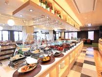 【Cafe Restaurant Lavender】ビュッフェカウンターでシェフが調理が嬉しい◎