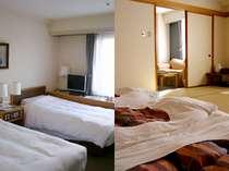 室数限定 【ツインorセミダブルor和室】お部屋タイプは施設におまかせプラン