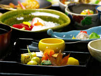 【京会席一例】季節ごとに異なる味をご賞味下さい。