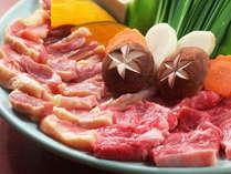 【プレミアムフロイデー】少しだけ遅めの到着でもOK♪お肉を満喫☆黒毛和牛・地鶏の鉄板焼き会席プラン!