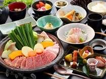 【鉄板焼き会席】お肉をたくさん食べたい方必見/一例