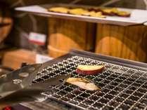 ロースターで炙って堪能する焼き魚!