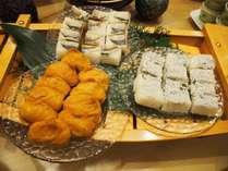 大阪名物「箱寿司」!大阪中央卸売市場で仕入れた魚です。