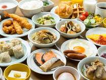 【朝食バイキング】おかず、サラダ、フルーツ、ご飯、カレー、パン、ご当地メニューetc♪(イメージ)