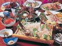 [写真]天草地魚食事部屋出しプランの実物写真