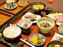 【朝食一例】健康に配慮されたバランスの良い食事をご提供
