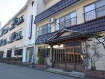 【えびす屋外観】湯野上温泉駅徒歩3分の駅チカ♪