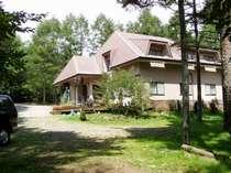 大きな森に佇む小さな宿、バークはひたすら環境、お食事、部屋の快適さを追求します