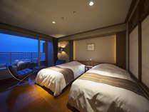 【M】2010年7月オープン!都市ホテルのような洗練されたデザインの客室